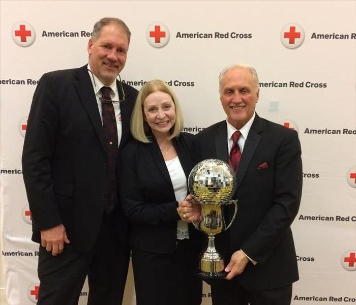 Jim Knopf of SERVPRO Raises Over $27,000 For the Red Cross