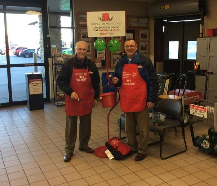 Salvation Army Bell Ringing Volunteers