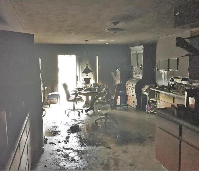 Fire Leads to Water Damage