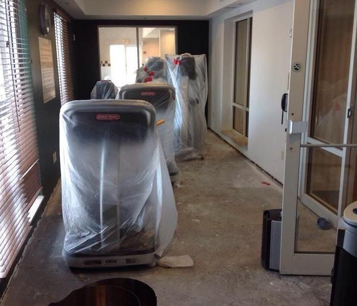 Water Damage at Hotel