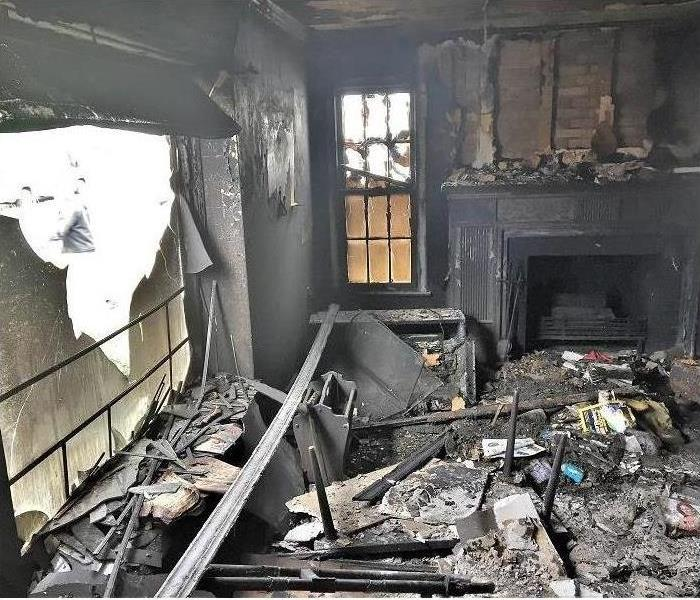 Fire Damage Green Bay Area Smoke and Soot Cleanup