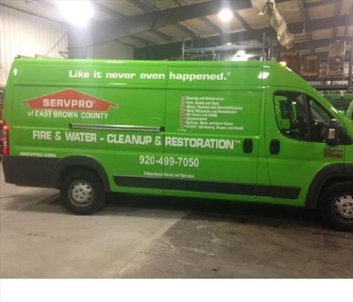 General SERVPRO of East Brown County Adds New Equipment to Fleet